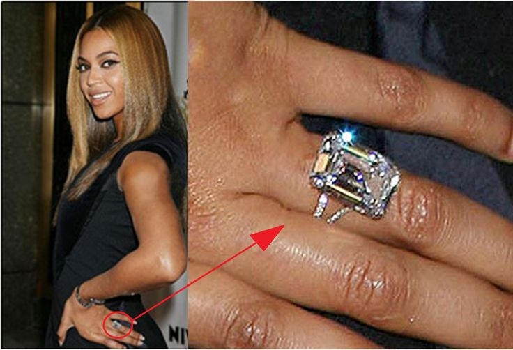 Precious Engagement Rings Of Celebrities That Will Make