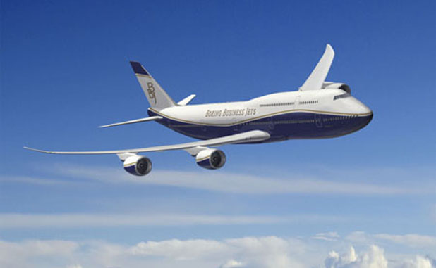 BBJ - 747-8 VIP Artwork K64834