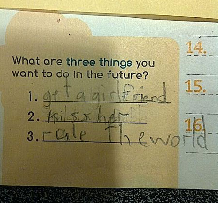 Funny Test Answers from Smartass Kids