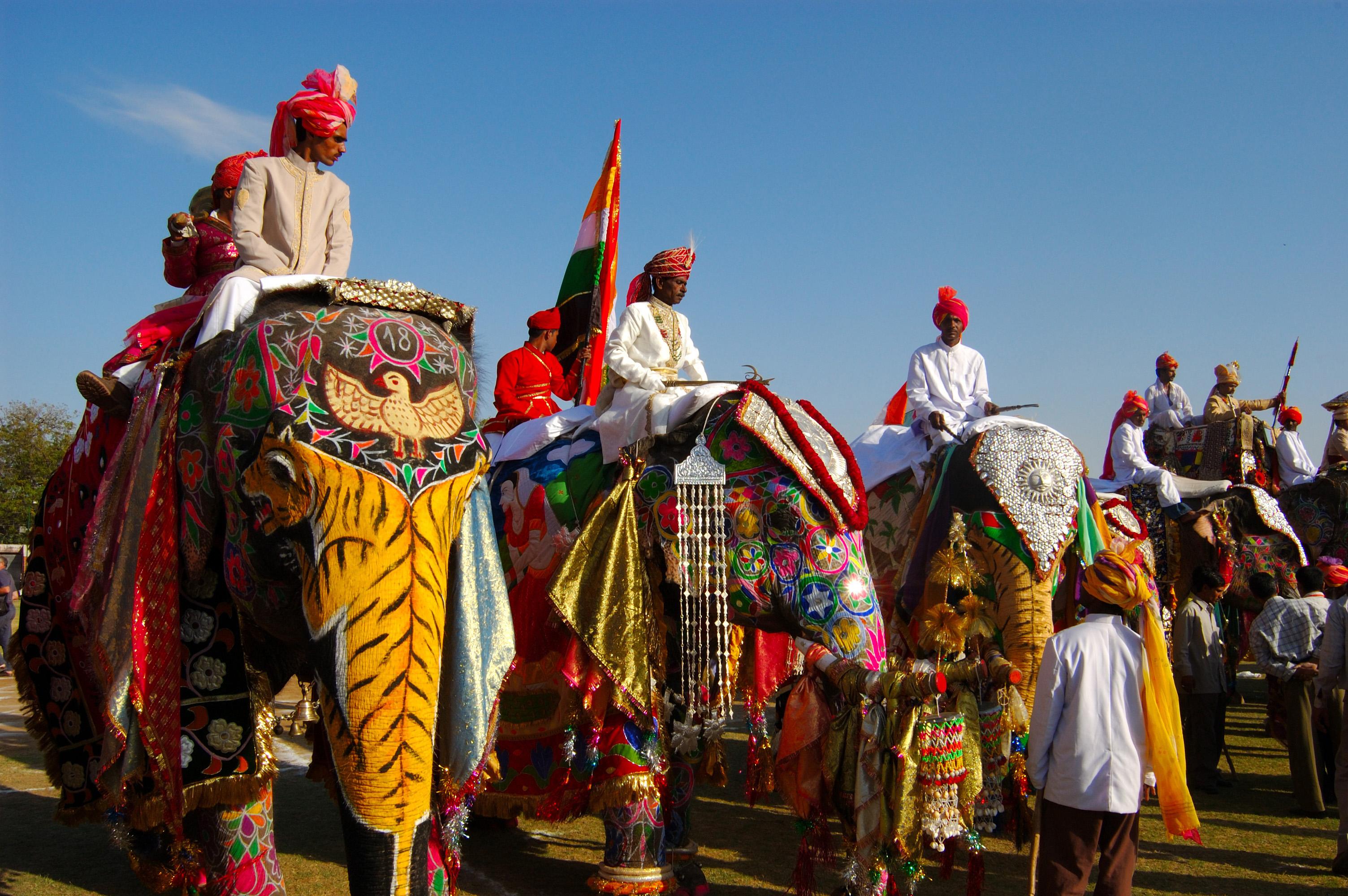 Jaipur Elephant Festival 2