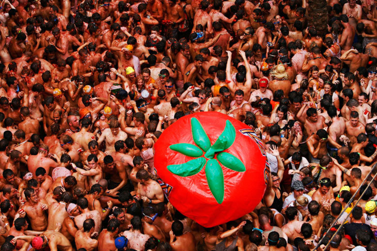 La Tomatina Festival 1