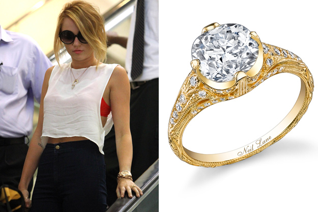 Precious Engagement Rings of Celebrities That Will Make ...