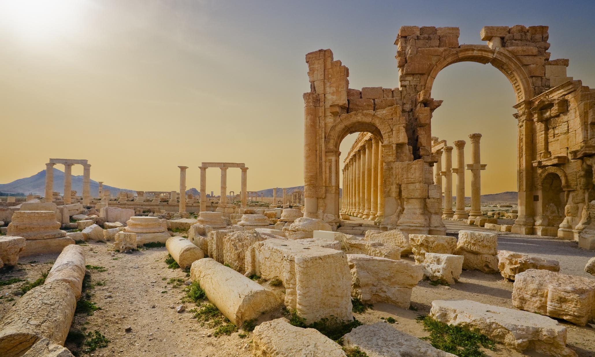 Palmyra, Persia