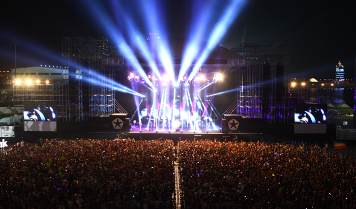 Rock Festival, Korea
