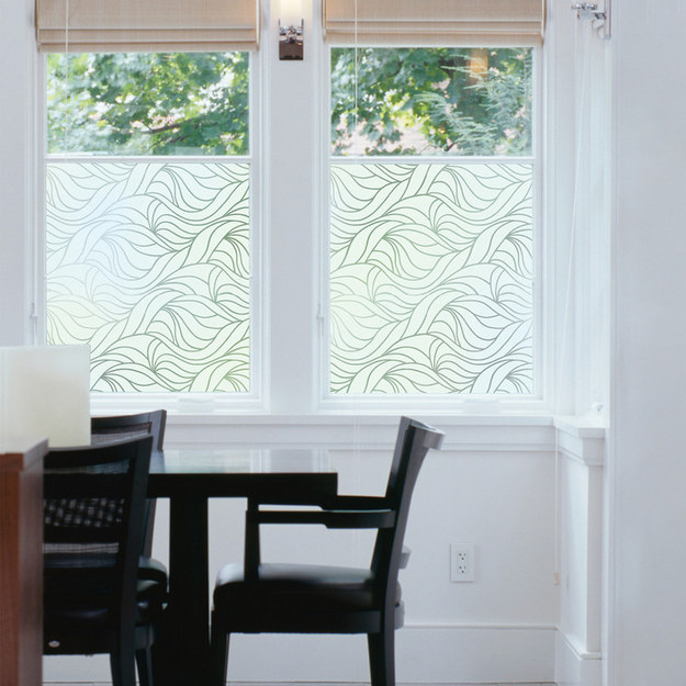 Wavy Window Film