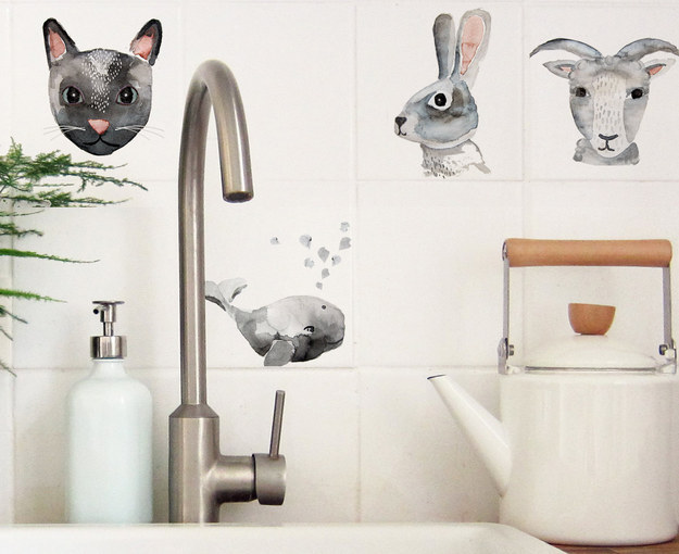 Animals to put on the tile backsplash