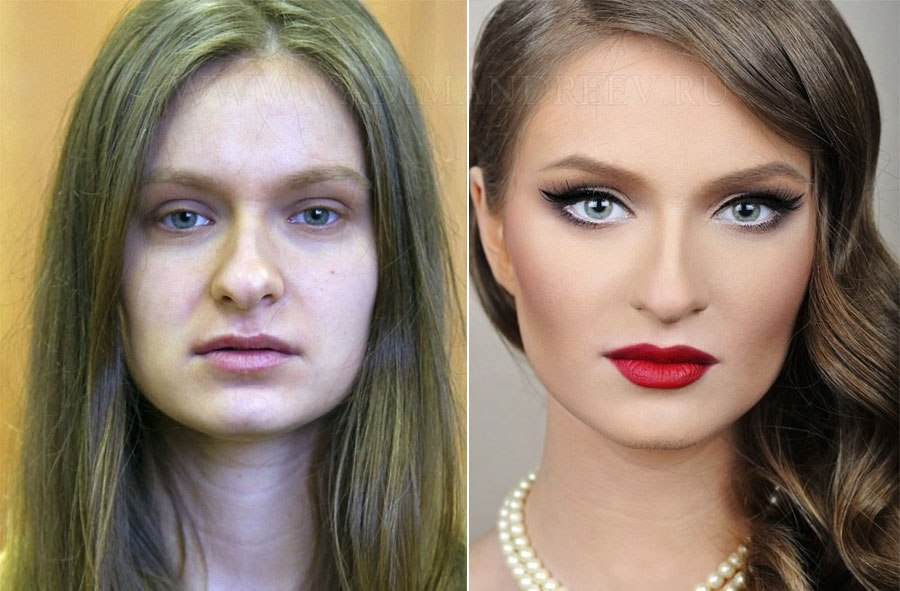 beauty makeovers before after