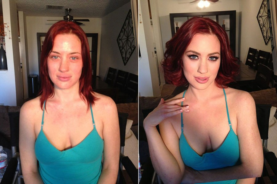 contouring makeup before and after pictures