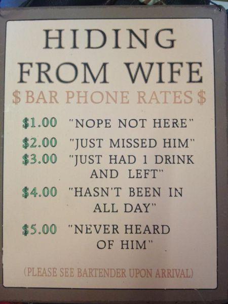 funny creative bar signs 1