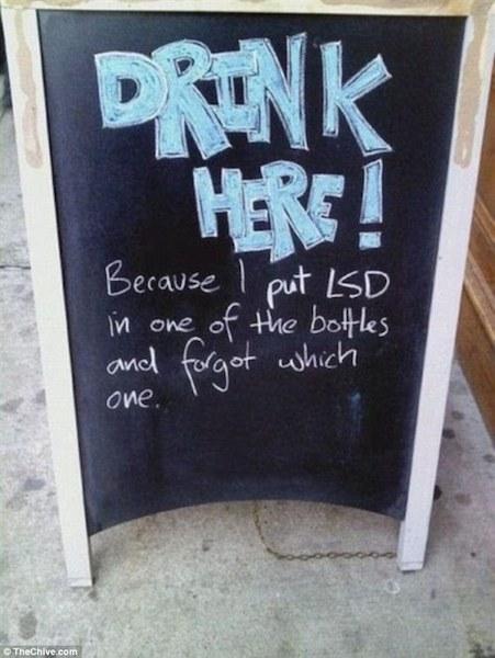 funny creative bar signs 16