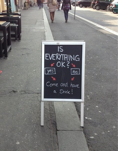 funny creative bar signs 23