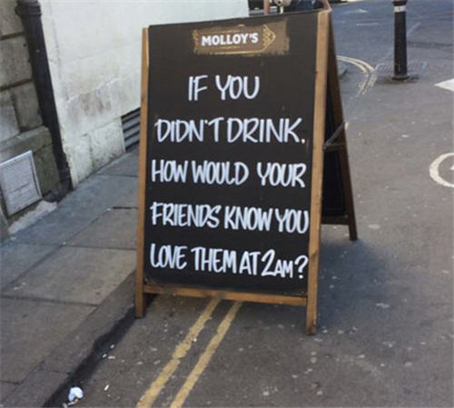 funny creative bar signs 4