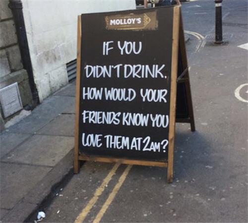 funny creative bar signs 4