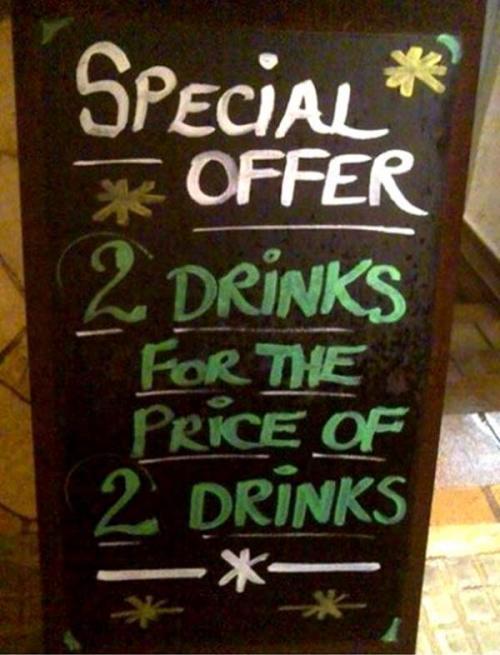 funny creative bar signs 9