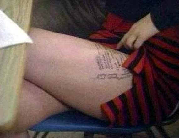 girls cheat in exams 01