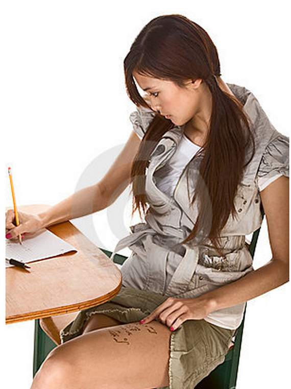 girls cheat in exams 05