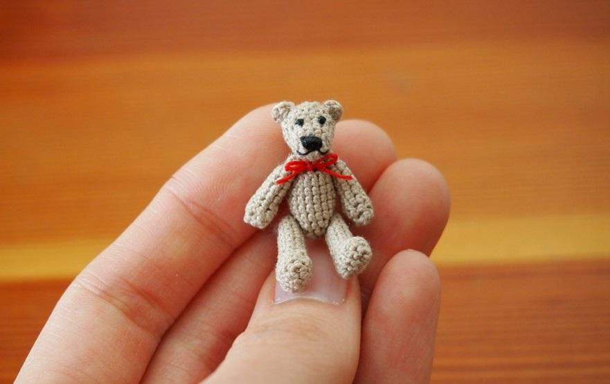 smallest teddy bear