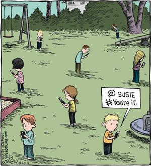 smartphone addiction funny sad images 24