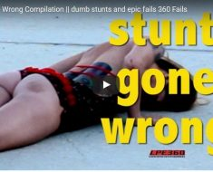 stunt fail compilation