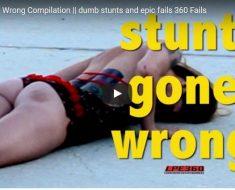 stunt fail compilation