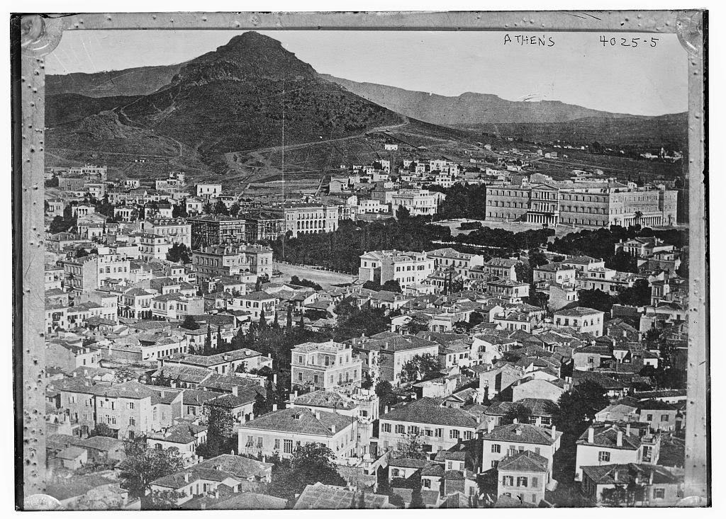 Athens old images