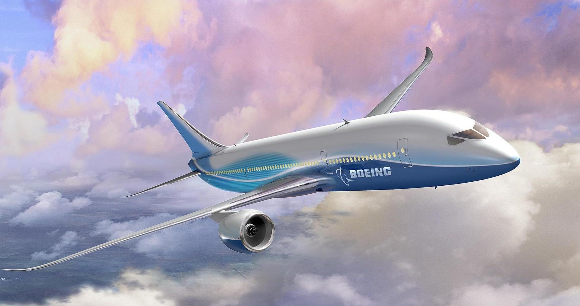Jet airliner images