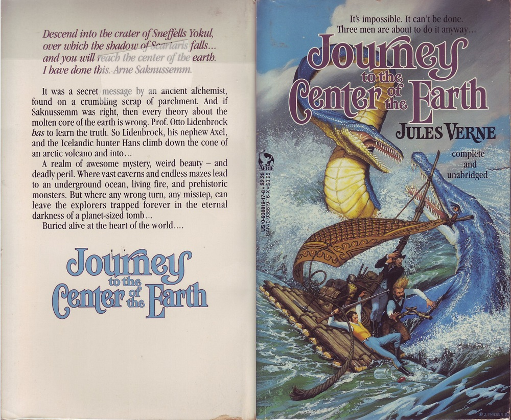 Journey to the Centre of the Earth – Jules Verne (1874)