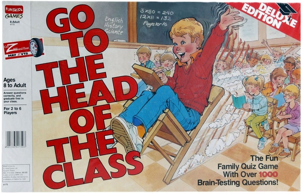 Go to the Head of the Class