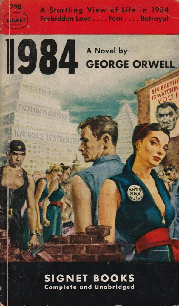 thesis statement for 1984 by george orwell