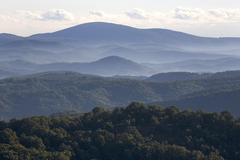 Paysage du Parc Naturel de STRANDJA Bulgarie